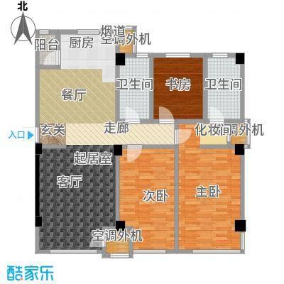 城建乾元户型3室2卫