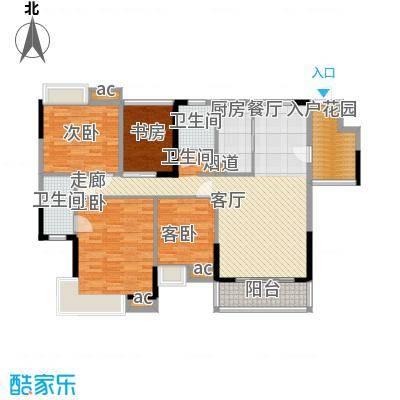 怡丰映�明轩5-8栋C1户型
