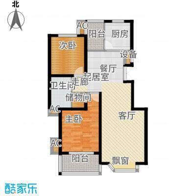 灞柳生态家园94.15㎡西航花园东区26、28号楼户型