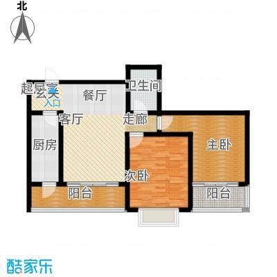 清水澜庭106.68㎡B2户型