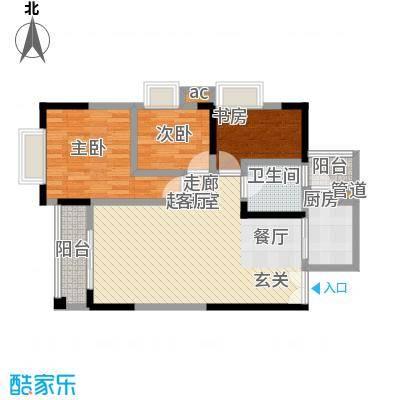 上海城89.30㎡-方-2套户型