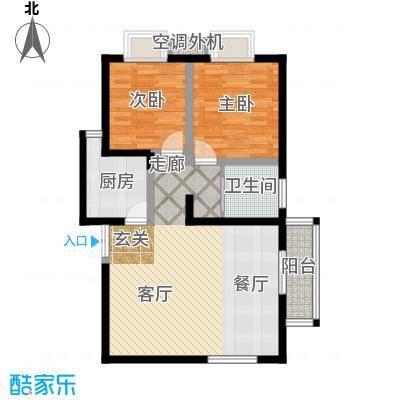 中天雅苑94.00㎡58套户型
