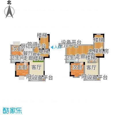 太平宝邸152.00㎡B+1户型
