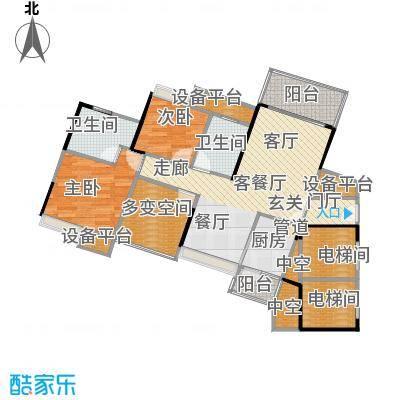 尚城国际88.98㎡A-5栋03户型