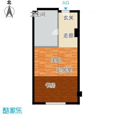 武汉豪生国际酒店62.62㎡SK户型