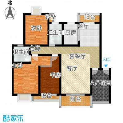 天元吉第城108.81㎡-129平方米-38套户型