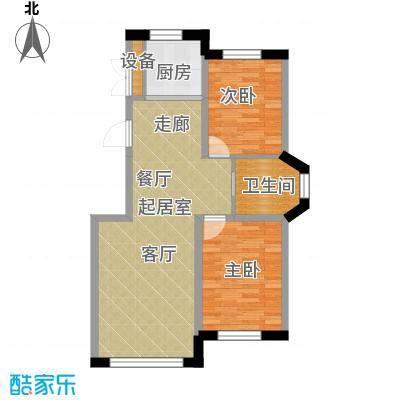 中顺和苑89.73㎡二期户型