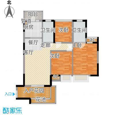 怡丰映�明轩9-12栋B1户型