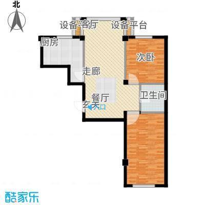 中河名庭90.00㎡户型