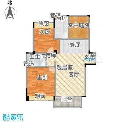 鑫瑞小城故事92.10㎡户型