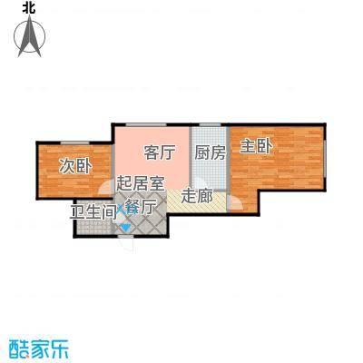 黎明东馨园69.20㎡房型户型
