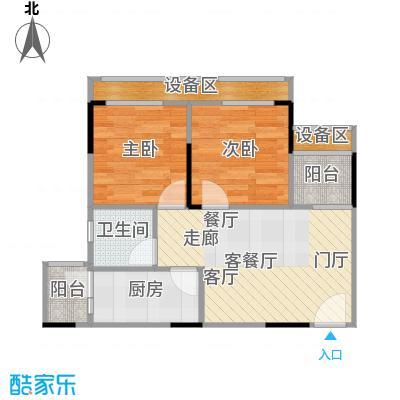 NANO公馆49.25㎡单体楼标准层D户型