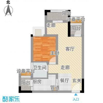 铂晶城天王星・铂晶城1―1栋户型