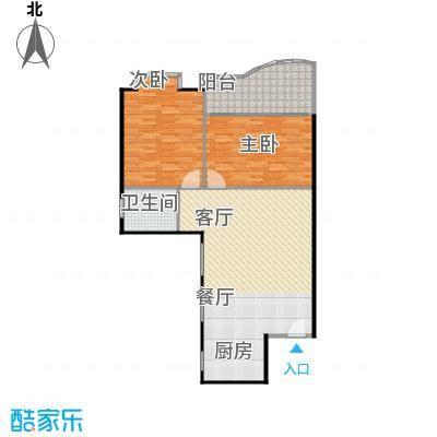 东方江景园97.21㎡房型户型