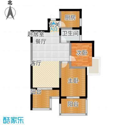 曲江观唐105.73㎡在售D2双向阔景阳台全明户型