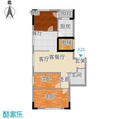 华宇凤凰城100.00㎡户型