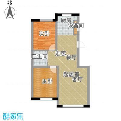 中顺和苑89.00㎡二期户型