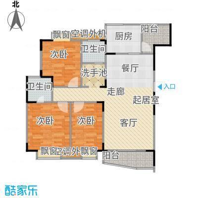 乡村花园南艳湾97.81㎡127m2户型