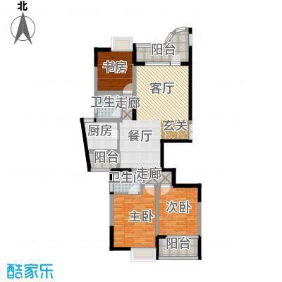 滨江・金色家园金色家园三期2户型