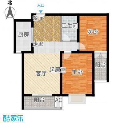 克拉公馆92.84㎡蓝钻空间户型