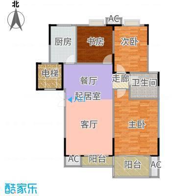 奥体新城海棠园111.01㎡-11101~13764-220套户型