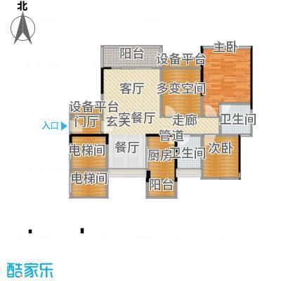 尚城国际88.28㎡A-2、3栋04户型