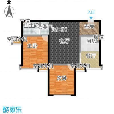 苏豪爱居71.00㎡A户型