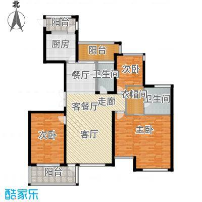 ART蓝海户型3室1厅2卫1厨