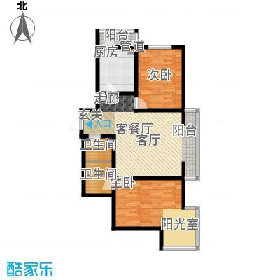 水映兰庭121.00㎡房型户型