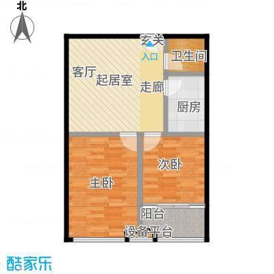 香港国际70.00㎡A5户型