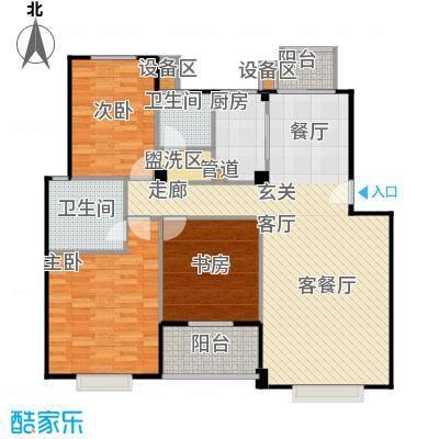 七里晴川119.52㎡房型户型