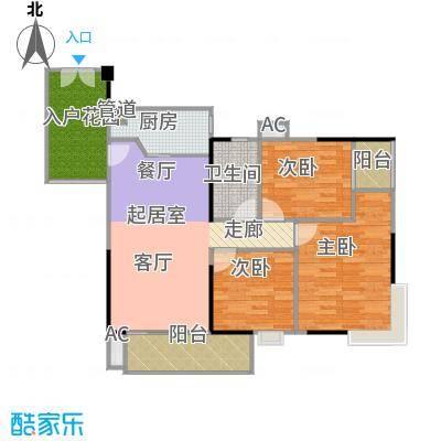 东银广场96.09㎡6-31层03、06单位户型