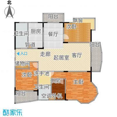 乡村花园南艳湾145.00㎡159m2户型