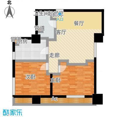 嘉业国际城103.21㎡精装公馆C14-18层户型