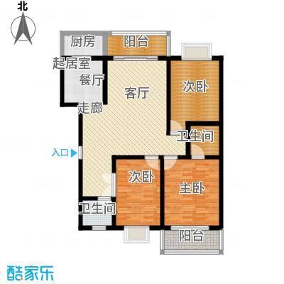 清水澜庭130.11㎡C4户型