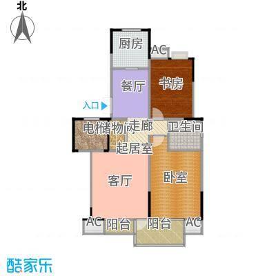 奥体新城海棠园94.15㎡-9415~9521-42套户型