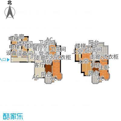 中海水岸馨都180.00㎡复式户型
