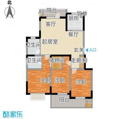 龙湖文馨苑113.81㎡--40套户型