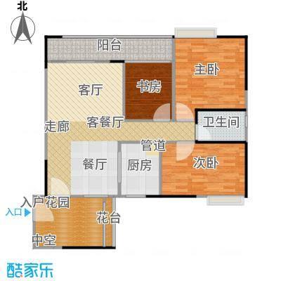 广电大德路项目兰亭�濠大厦97.90㎡T2-05单元户型