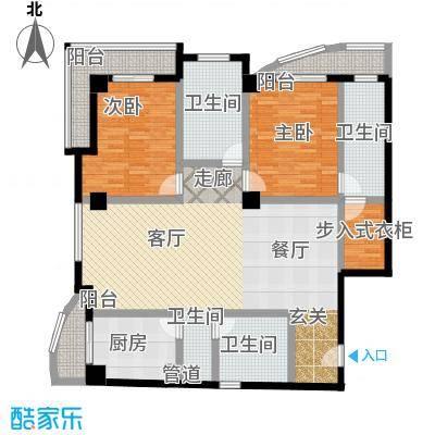 航天星苑168.16㎡房型户型