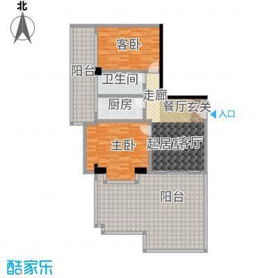 颐和雅轩100.85㎡南塔22层02单元户型