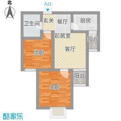锦翔梧桐坊68.08㎡C户型