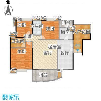 宏诚海岸花园141.87㎡宏逸轩3栋04单元户型