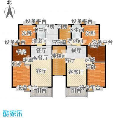 润富花园(中低价商品房)127.00㎡复式单层15776m2户型