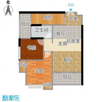 重庆天地雍江悦庭重庆天地・雍江悦庭69.00㎡4号楼4户型