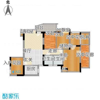 锦绣园89.00㎡户型