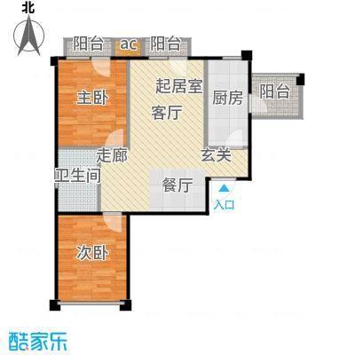 中海英伦观邸81.00㎡F8户型