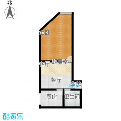 吉泰家园56.75㎡房型户型