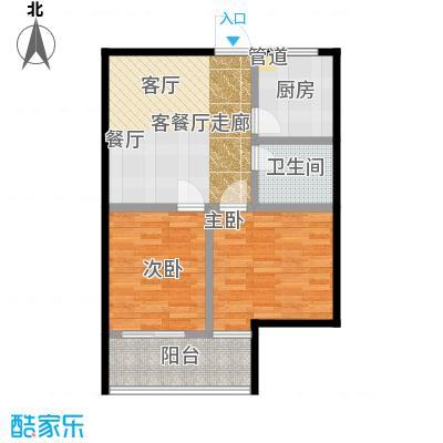 创景200061.98㎡房型户型