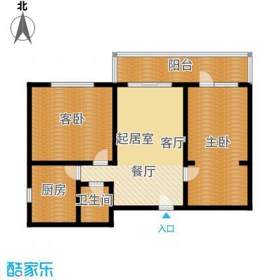 黄桷印象103.71㎡房型户型